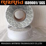 Tag da voz passiva da escala longa RFID de papel térmico de amostras livres
