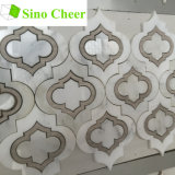 Configurations Waterjet de marbre de tuiles de mosaïque