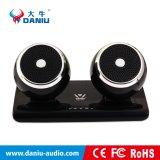 De Stereo BasSpreker van Bluetooth met de Bank van de Macht met LEIDENE Lichte 2000mAh
