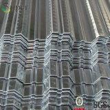 Prezzi d'acciaio galvanizzati, strato galvanizzato di Decking del pavimento d'acciaio
