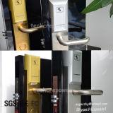 Edelstahl-Netz-drahtloser Hotel-Tür-Verschluss-elektronischer Griff-Onlineverschluß für Zugriffssteuerung