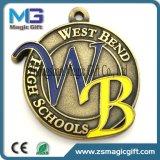 De Medaille van de Afwerker van de Sporten van de Legering van het Zink van het Ontwerp van de Douane van de Kwaliteit van Hight