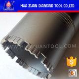 Huazuan 3 do concreto reforçado do diamante do núcleo porções de bit de broca