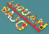 Kundenspezifischer Farben-Wasser-Sport-Spiel-aufblasbarer Sport-Park