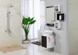 Nueva moda MDF blanco cuarto de baño vanidad muebles para el hotel