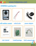 Дверной звонок телефона двери Interphone домашней обеспеченностью WiFi видео-