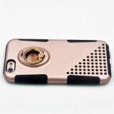 Hybird 3 Standplatz-Telefon-Kästen der Rüstungs-In1 für iPhone 7/7plus Fall mit Riemen-Klipp und Ring-Halter (XSSH -004)