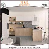 Gabinete de cozinha de madeira da mobília Home moderna quente do Sell