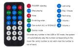 2016 MP3 caliente Bluetooth con la tarjeta teledirigida del decodificador