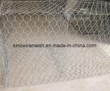 Unterschiedliche Größe Gabion Felsen-Wand-Filetarbeit