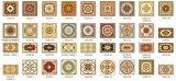 80X80cm de Tegel van het Tapijt voor Decoratie (bdj60021-4)