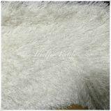 衣服のための巻き毛の長い山ののどの毛皮/擬似毛皮