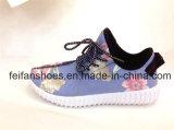 子供の注入のズック靴のスポーツの靴は卸し売りする(FFDL111905)