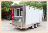 Доставка с обслуживанием Van трейлера тележки еды сбывания Ys-Fv450e горячая