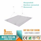 Luz de painel de suspensão 600*600mm do diodo emissor de luz da instalação 36W AC100-240V 100lm/W