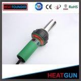 Canon en plastique vert de soudure d'air chaud de canon de chaleur