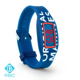 Tag do Wristband da escala longa RFID para o bracelete do silicone do evento desportivo NFC