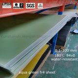 Feuille de fibre de verre de Pertinax de tissu de la fibre de verre Fr-4/G10 avec l'OEM favorable de possibilité de traitement procurable