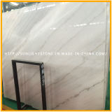 Laje de mármore branco polido alto, pedra branca chinesa de Guangxi