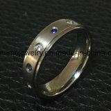 Ring de Van uitstekende kwaliteit van het Titanium Zircon van de Juwelen van Shineme (TR1850)