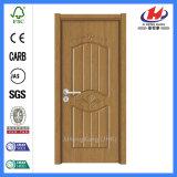 Porte intérieure de panneau du modèle 1 de porte de PVC de montant de porte de porte de PVC Jhk-P09