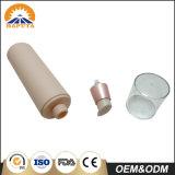 Contenitore di plastica senz'aria dentellare della bottiglia per cura di pelle