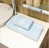 Tovagliolo 100% di bagno dell'hotel del bordo della ratiera del cotone