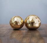 化粧品の包装のための贅沢な金ダイヤモンドのアクリルのクリーム色の瓶(PPC-ACJ-075)