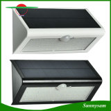 1つのモード46 LEDの防水機密保護の太陽庭ライトに付き動きセンサーの壁の台紙4つが付いている46のLEDの屋外の太陽ライト