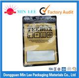 Zakken van de Verpakking van het voedsel de Naar maat gemaakte Plastic met de Fabriek van Dongguan van Vensters