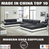 Das meiste populäre Italien-moderne Schnittmöbel-Leder-Sofa