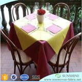 Polypropylen-Tisch-Tücher, runder Tisch-Tuch, Tischwäsche