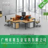 Mesa transversal do metal do escritório de projeto da alta qualidade em quatro Seater