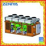 고품질 산업 해병을%s 공기에 의하여 냉각되는 냉각장치