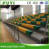 Einziehbare Haupttribüne verwendete Zuschauertribünen für die Verkauf verwendeten Zuschauertribünen, die System Jy-750 setzen
