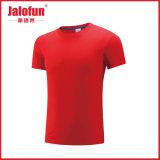 Katoenen van de sport Slijtage Gekamde Lege T-shirt met Grootte Exlarge