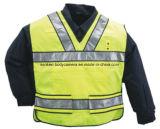 トラフィックの監視員のための反射ベストまたは保安要員または道の管理および等