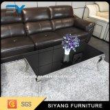 居間の家具のステンレス鋼の大理石のコーヒーテーブル