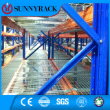 Lager-Stahlspeicher-DrahtDecking für Ladeplatten-Racking