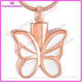 De Tegenhangers van de Vlinder van de Halsband van de Crematie van de Juwelen van het roestvrij staal