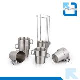 Multifuncional 6 piezas de acero inoxidable taza y taza de la leche para la venta al por mayor