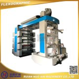 Maquinaria de impresión flexográfica del PE del LDPE del HDPE de 4 colores