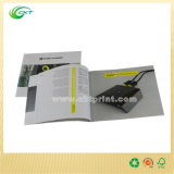 Impresión de papel para el folleto, librete, compartimiento (CKT-BK-394)