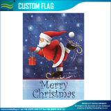 Aquecer a bandeira da bandeira da jarda do inverno do Natal do jardim do boneco de neve dos desejos (M-NF06F11028)