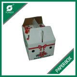 Caixa de empacotamento feita sob encomenda do papel de impressão para o Takeaway da morango