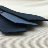 Lazos flacos de lino de seda tejidos telar jacquar de encargo del Mens delgados
