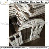 Specchio di legno decorativo Handmade dell'otturatore della finestra del nero antico dell'annata