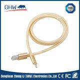 Câble en nylon de caractéristiques d'approvisionnement de fabrication (TUV) pour l'iPhone