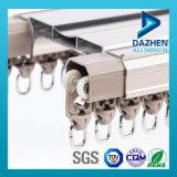 Trilho de trilho de cortina de perfil de alumínio 6063 com diferentes cores