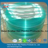 Bruderhao-Qualität ESD-grüner doppelter gewellter Plastik-Belüftung-Streifen-Vorhang Rolls